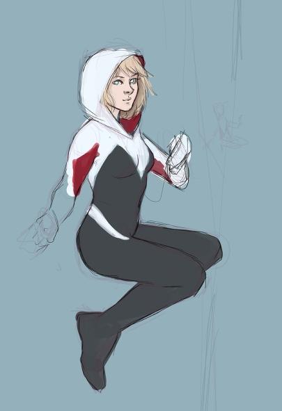 Spider Gwen sketch